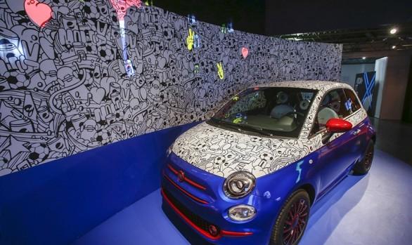 Pepsi + Fiat 500 + Garage Italia Customs
